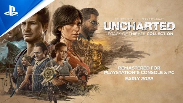 Uncharted: Colección Legado de los Ladrones llega a PS5 y PC