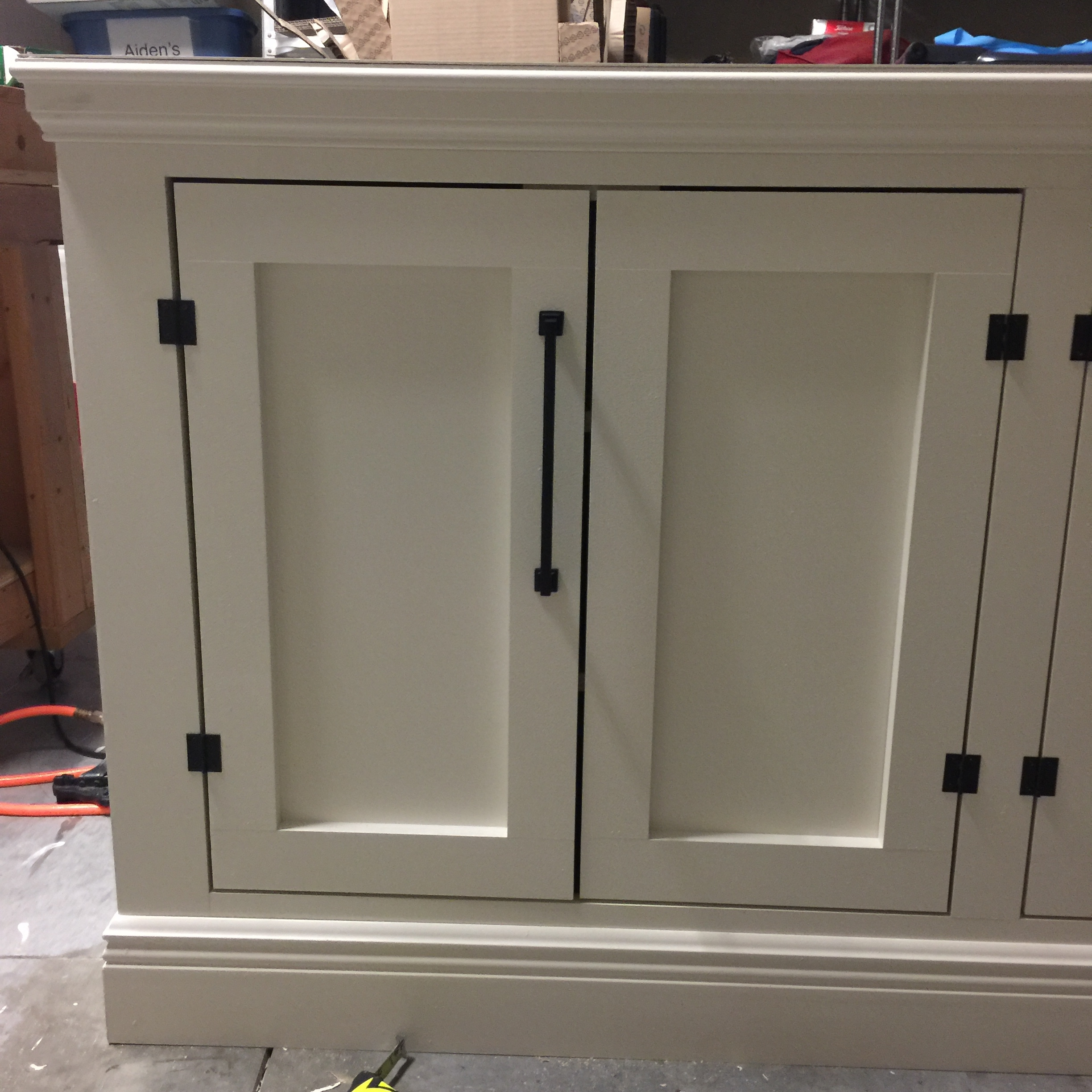 plywood kitchen cabinets diy restoration hardware sideboard tv stand frills amp drills 1561