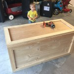 Easy Diy Toy Box Frills And Drills