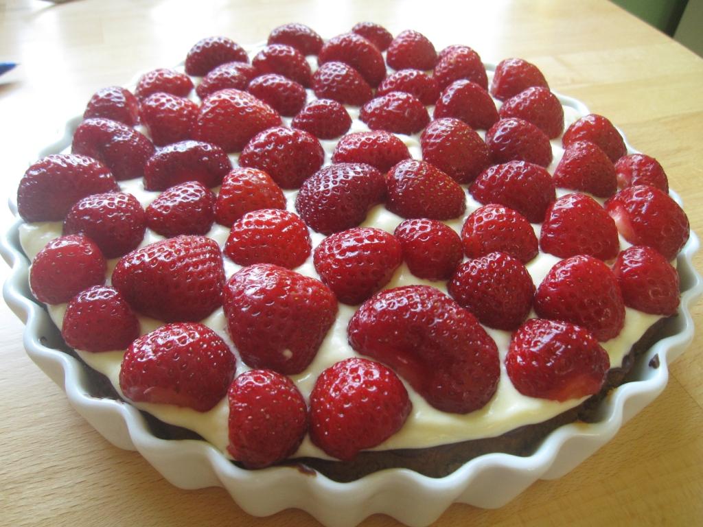 Alletiders Kogebog Jordbærtærte jorbærtærte | imte.disla.se