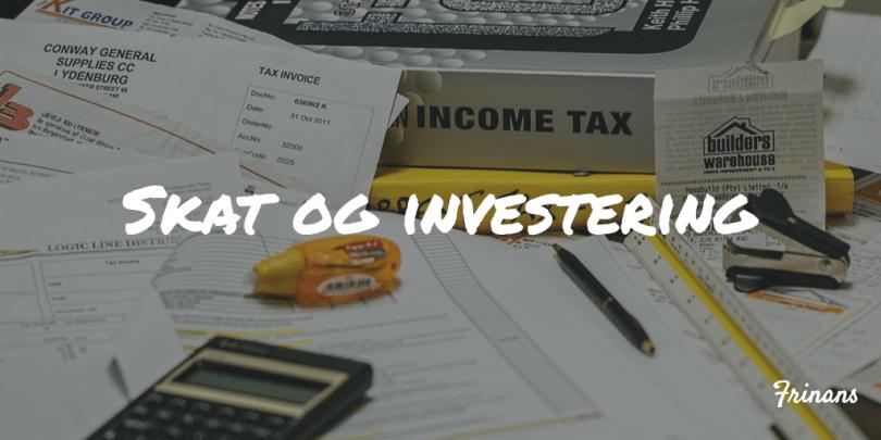 Skat og investering Frinans