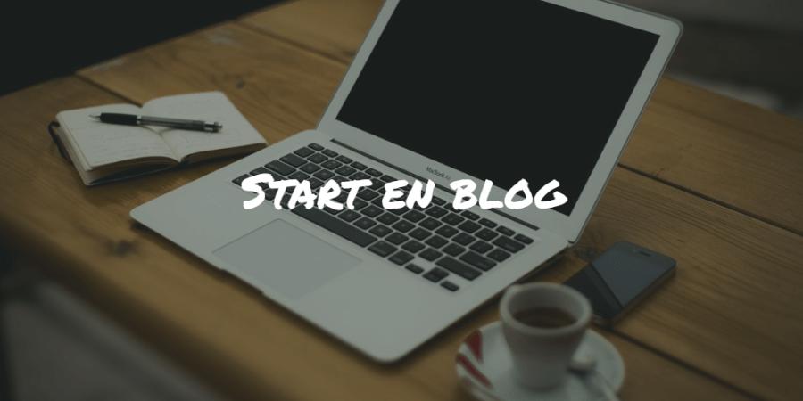 Start en blog Frinans