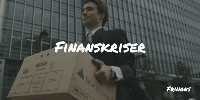 Finanskriser Frinans Blog
