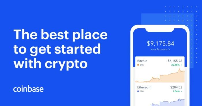 Coinbase er et nemt sted at komme i gang med Bitcoin