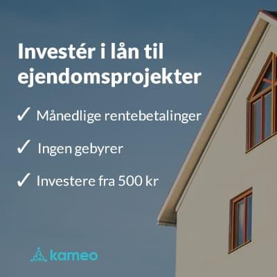 Kameo gør ejendomsinvestering nemt
