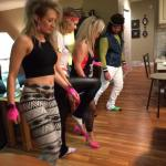 Apparently they line danced in the 80's