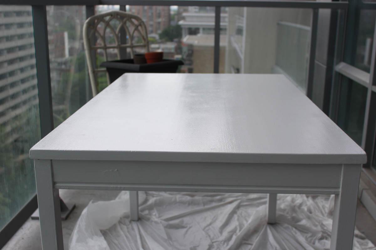 relooker une table en bois