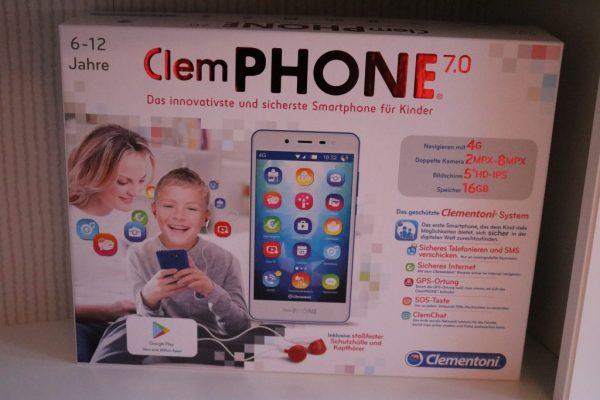 Clemphone-Clementoni-Verpackung