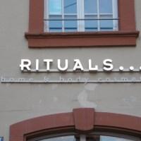 RITUALS * die Geschichte der leidenschaftlichen Kreation und des reinen schlichten Glücks!