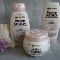 Wahre Schätze Sanfte Hafermilch und Reiscreme von GARNIER