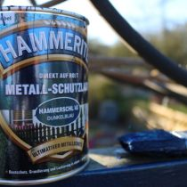 Hammerite-2 Hammerschlag blau Metall-Schutzlack