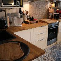 KÜCHEN IMPRO! Unsere neue Arbeitsplatte von WORKTOP EXPRESS #Küchengestaltung #Eiche #EchtholzArbeitsplatte