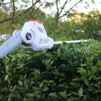 So wird Hecke schneiden zum Kinderspiel: mit der IKRA TELESKOP-HECKENSCHERE mit AKKU #garden #IKRA