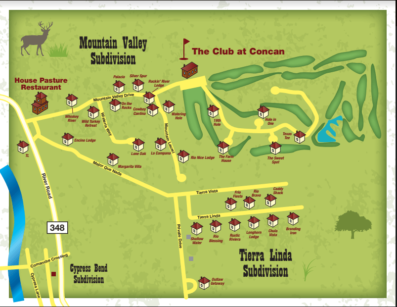 Frio Country Resort Maps   Friocountry Frio River Cabins