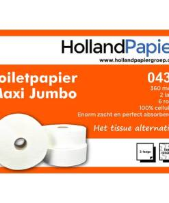 Jumborol maxi 380m 2lg toiletpapier ROVEQ