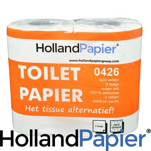 Toiletpapier 2laags 400vel 40rollen