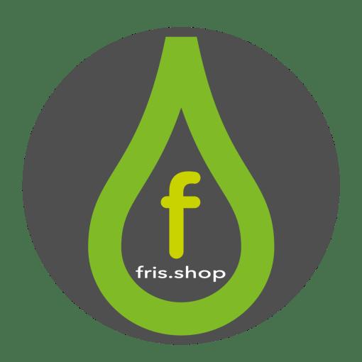 kleine letter logo grijs rond fris.shop