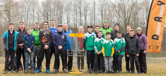 13 Junioren nahmen am ersten Ausbildungs- und Trainingscamp für Discgolfer in NRW teil.