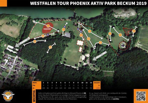 Parcoursplan WT Beckum 2019