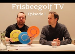 Frisbeegolf TV episode 1