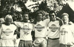 Bud Light Frisbee Team