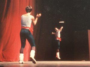 Krae performing