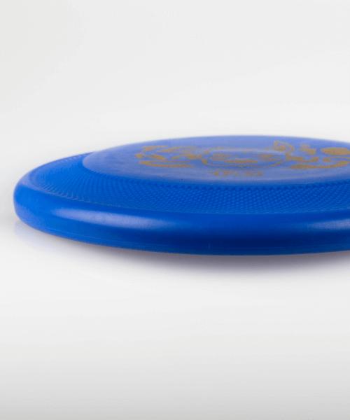 frisbee per cani tenacious blu profilo