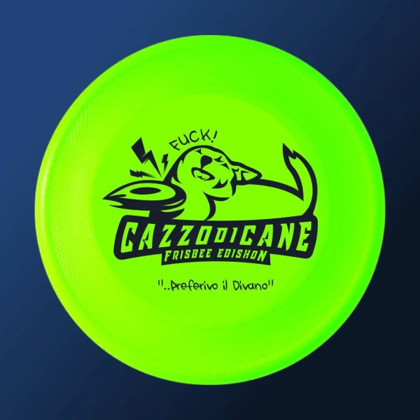 rocket frisbee per cazzo di cane rosa