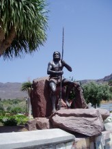 In Gedenken an die Ureinwohner