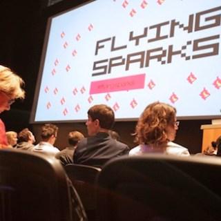 Flying Sparks (Foto: A. Heimann / Frankfurter Buchmesse)