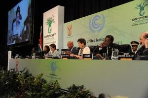 Weltklima-Gipfel in Durban (Foto: UNclimatechange/Flickr)