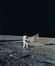 Mondlandung (NASA Apollo Archive)