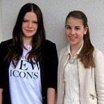 Sophia Keck und Anna-Lena Kirn