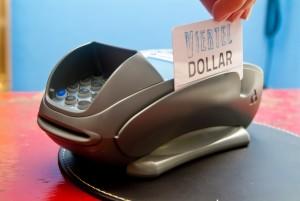Secupays Viertel-Dollar