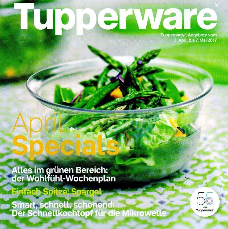 Die Tupperware-Angebote im April – Bekanntes und Neues im Wechsel