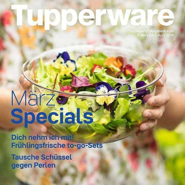 Tupperware Angebote März 2018