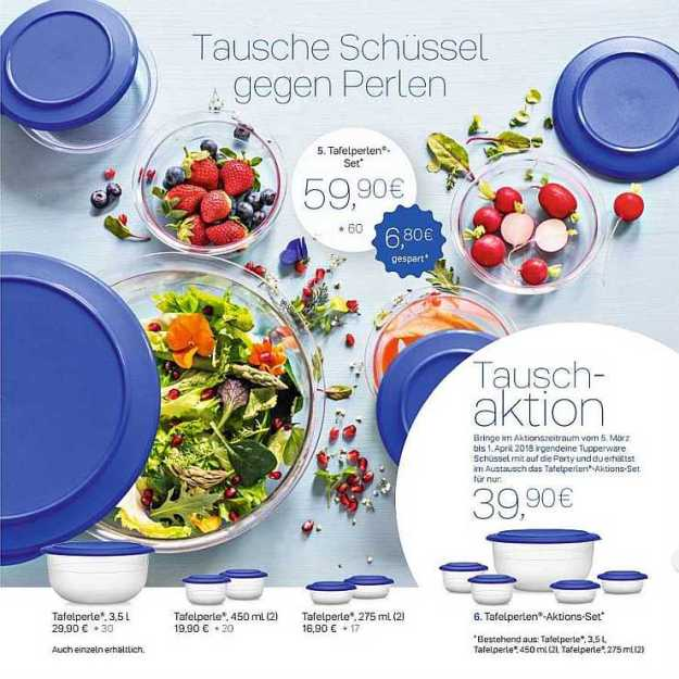 Tupperware Tauschaktion