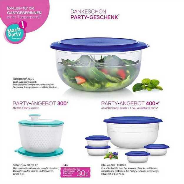 Tafelperle, Salat-Karussel, Partyangebot