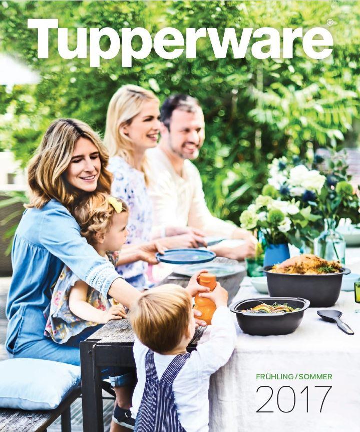 Da ist er, der Frühjahrs-Katalog 2017 von Tupperware!