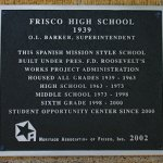 Frisco High School, 6942 Maple St.