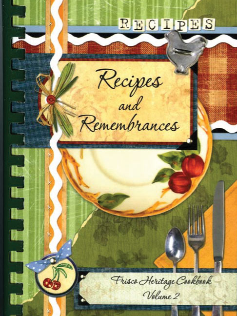 Recipes and Remembrances Cookbook Volume 2 Cover