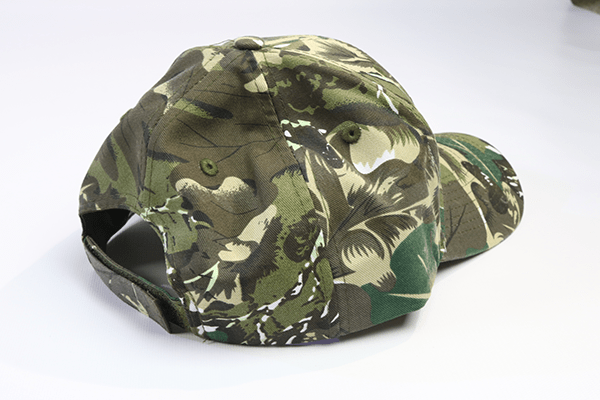 Camo Baseball Cap Side