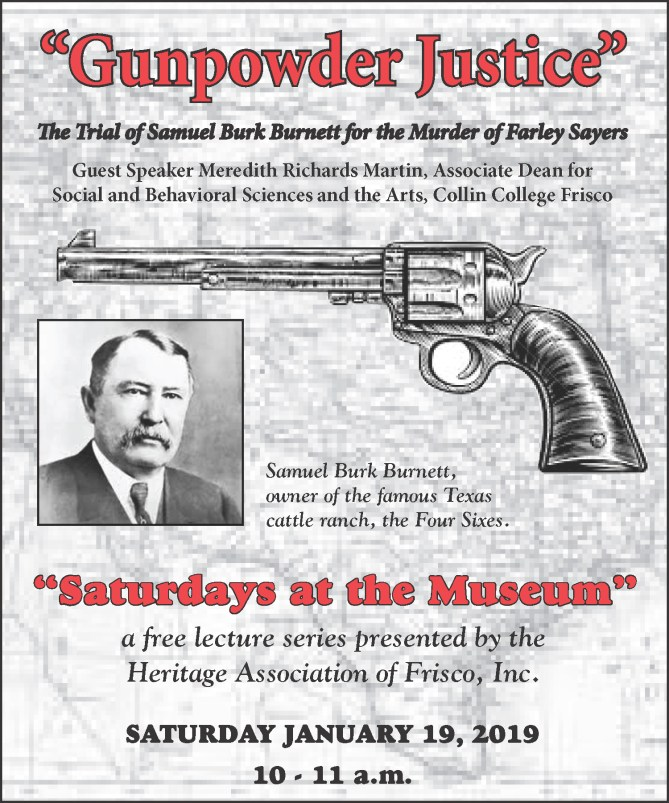 Gunpowder Justice Lecture Flyer