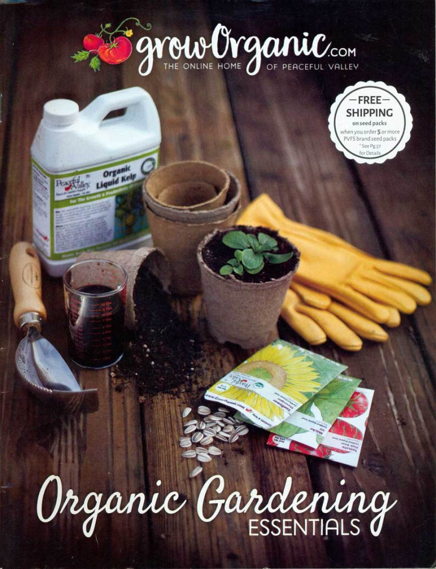 Grow Organic: Gardening Essentials, California, 7.75 x 10 in., 68 pp.