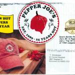 Pepper Joe's, Maryland, 5.5 x 8.5 in., 34 pp.