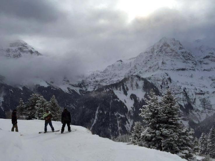 Today was a blast! #frisek #frisekteam #snowboard #champery #lescrosets