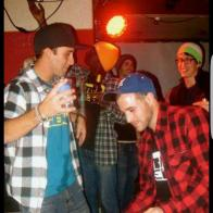 """Throw back 5 years ago at the """"it's time to pay"""" vidéo premiere in Fribourg #frisek #party #goodmemory"""