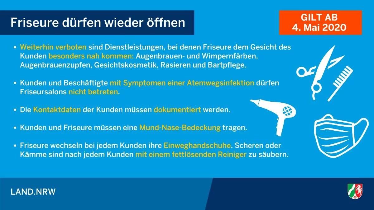 Maßnahmen NRW gegen das Corona-Virus
