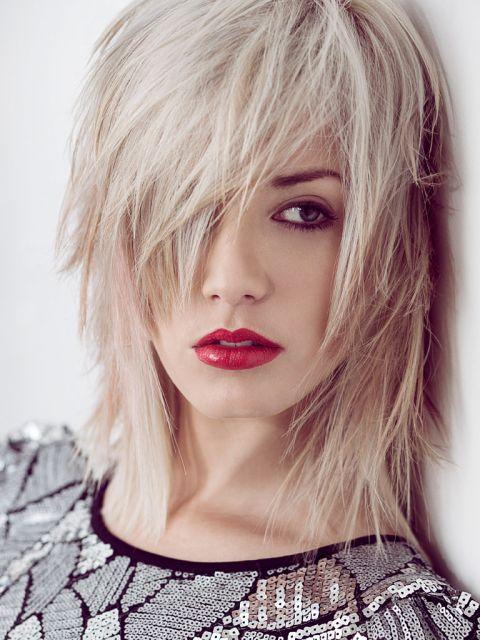 Unsere TOP 25 Blonde Mittellange Frisuren Platz 3