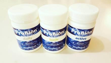 Probiotika och goda bakterier som acidophilus är bra för magen